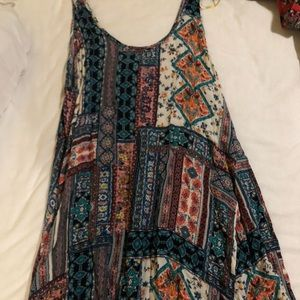 Lulus Patterned mini dress